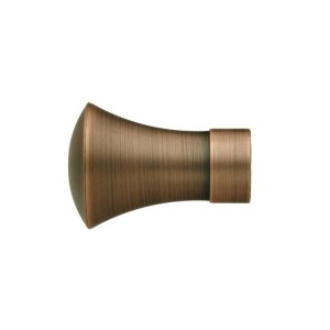 UFN10 Distressed Copper Finial~Pair