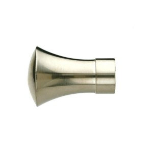 UFN10 Brushed Nickel Finial~Pair