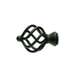 UFN11 Black Finial~Pair