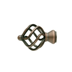 UFN11 Distressed Copper Finial~Pair