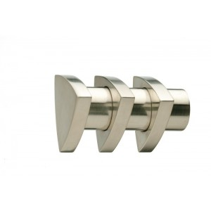 UFN2 Brushed Nickel Finial~Pair