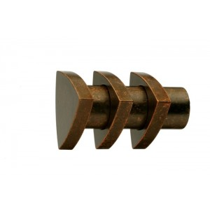 UFN2 Weathered Copper Finial~Pair