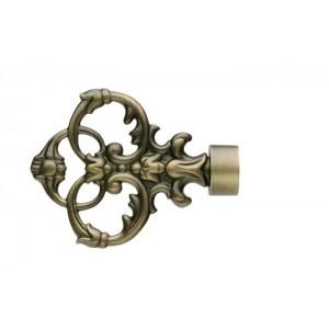 UFN4 Antique Brass Finial~Pair