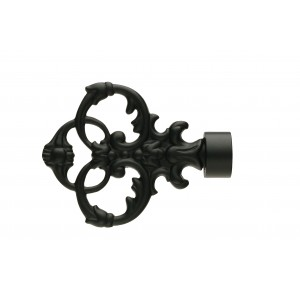 UFN4 Black Finial~Pair