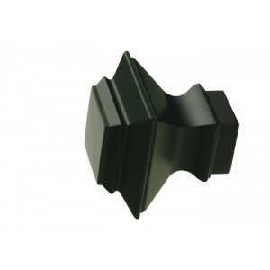 UFN6-BL Black Finial~Pair