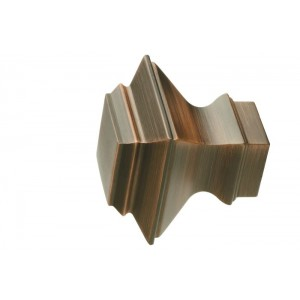 UFN6-DC Distressed Copper Finial~Pair