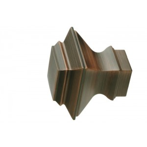 UFN6-WN Weathered Copper Finial~Pair