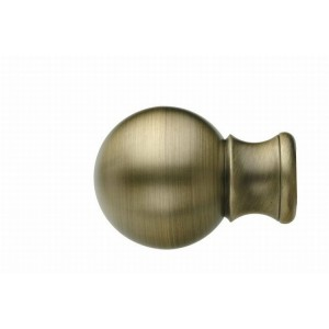 UFN7 Antique Brass Finial~Pair