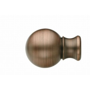 UFN7 Distressed Copper Finial~Pair