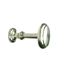 Brushed Nickel Holdback~Pair