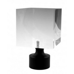 """Block Acrylic Finial for 1"""" Curtain Rod~Each"""