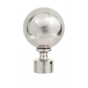 "Sphere Finial for 1 1/8"" Rod ~ Each"