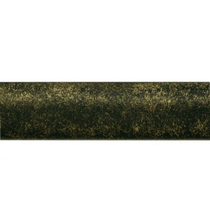 "Aged Gold 1 1/8"" Metal Curtain Rod"
