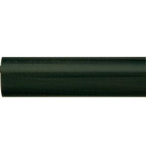 "Rustic Brown 1 1/8"" Metal Curtain Rod"