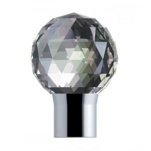 "Vesta European Elegance Wattens Crystal Finial for 1 1/8"" Rod~Each"