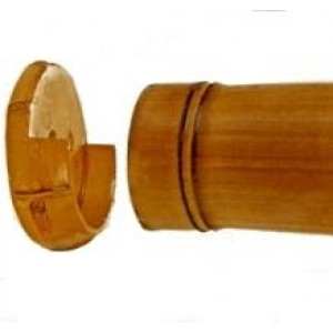 "Bamboo Inside Mounts for 2"" Curtain Rods~Pair"