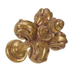 Gilded Gold Fleur De Lis Tieback~Each