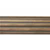 "12' Fluted Wood Curtain Rod Pole~1 3/8"" Rod Diameter"