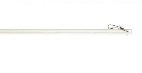 "White Fiberglass Wand with Clip~36"", 48"", 60"" and 72"" Length"