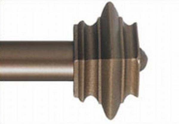 Square Cap Double Rod Set