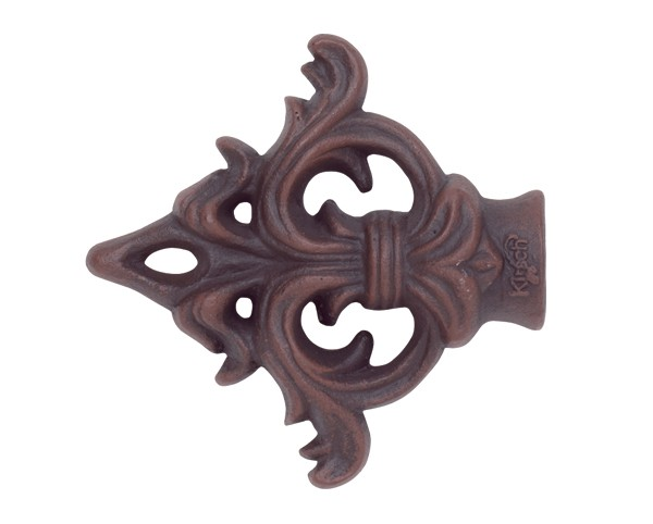 Acanthus Arrow Finial With Plug For 1 Quot Curtain Rod Pair