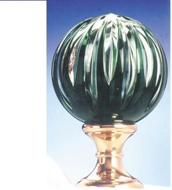 Blown Lead Crystal Finial