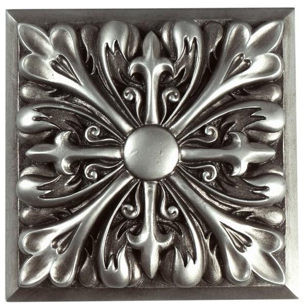 Trieste Antique Silver Tie-Back
