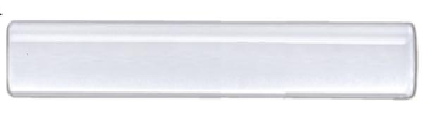 """8' Acrylic Lucite Curtain Rod 1 1/8"""" Diameter ~ Each"""