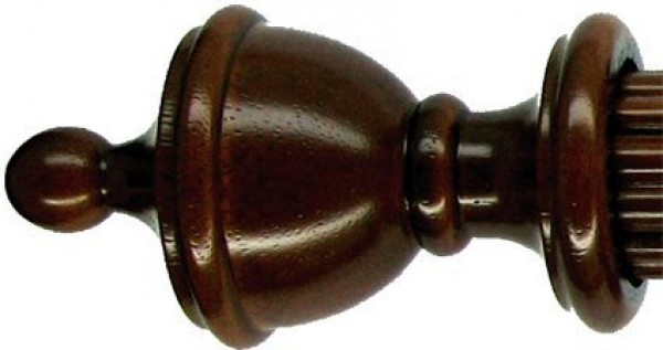 "Traditional Finial for 1 3/8"" Rod ~ Each"