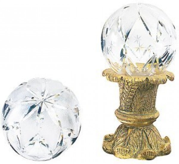 Finesse Large Hollow Large Star Crystal Finial