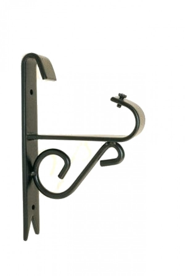 """Iron Scroll Bracket for 3/4"""" Curtain Rods~Each"""