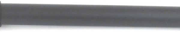 "4' Iron Curtain Rod~3/4"" Diameter"
