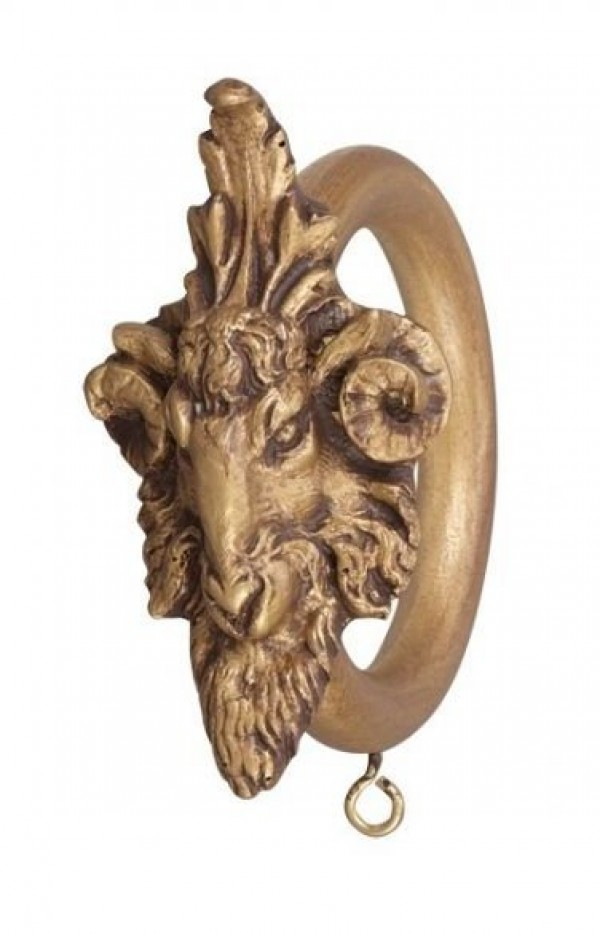 "2"" Ram Head Decor Ring"