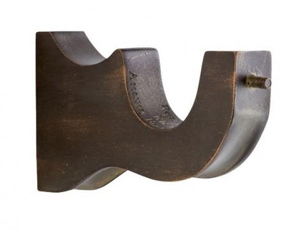 "Accessory Curtain Rod Bracket for 2 1/4"" Wood Drapery Rods~Each"