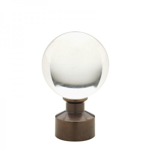 Bronze Acrylic Ball Finial