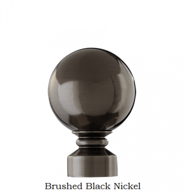 Brushed Black Nickel