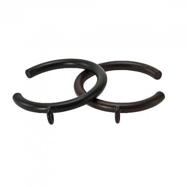 Bypass C Ring For 1 1 2 Quot Curtain Rod Each