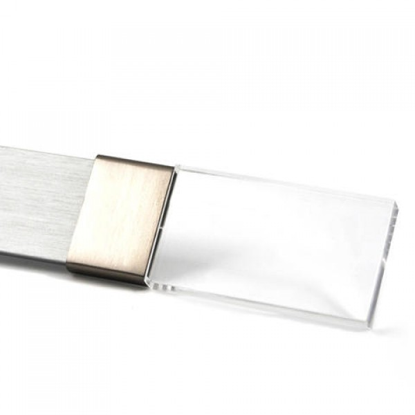Clear Acrylic Curtain Rod Finial For Rectangular Steel Drapery RodsEach