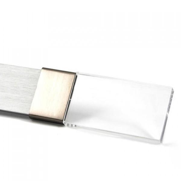 Clear Acrylic Curtain Rod Finial For Rectangular Steel Drapery Rods