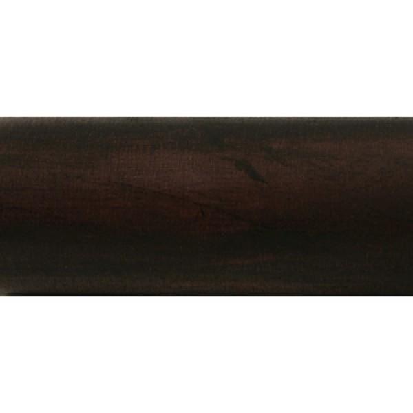 """4' Plain Wood Pole for 1 3/8"""" Curtain Rod~Each"""