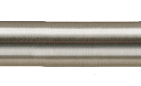 "47 1/4"" Steel Curtain Rod~1 1/8"" Diameter"