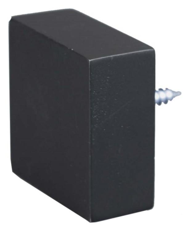 Quad Black End Cap~Each