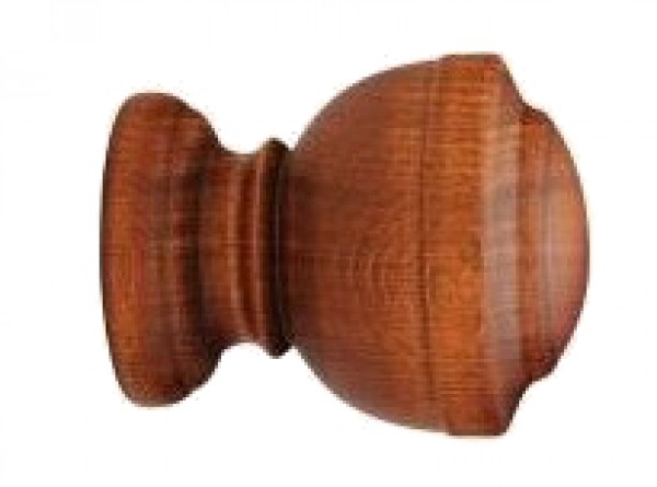 """Forest Calice Finial for 2"""" Wood Drapery Rod"""