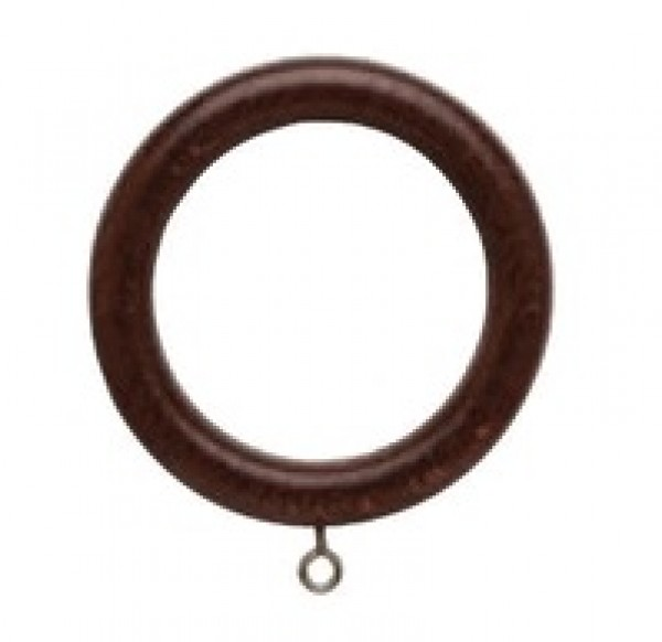 """Forest Wood Ring for 2"""" Drapery Rod"""
