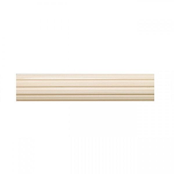 "4' Fluted Wood Pole ~ 1 3/8"" Diameter"