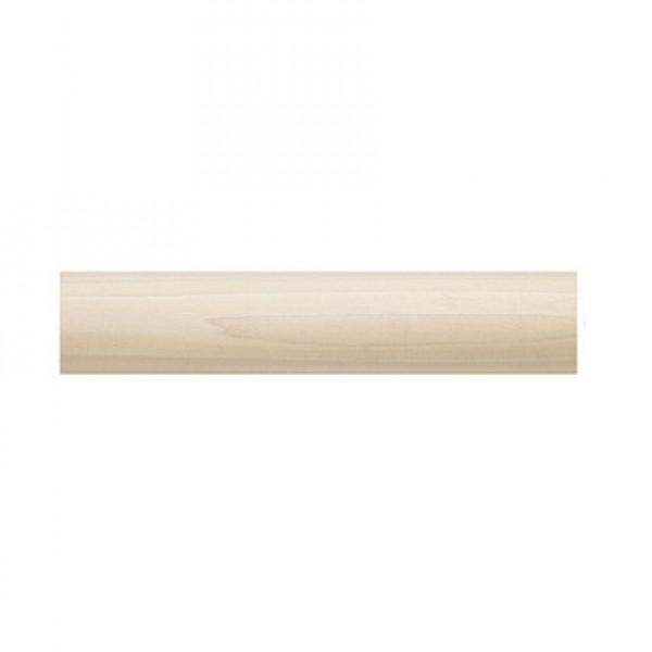 "6' Smooth Wood Pole ~ 1 3/8"" Diameter"