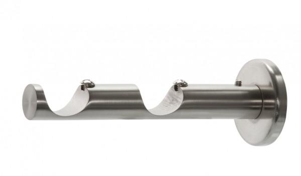 """Double Modern Bracket for 1 1/8"""" Rod Diameter ~ Each"""