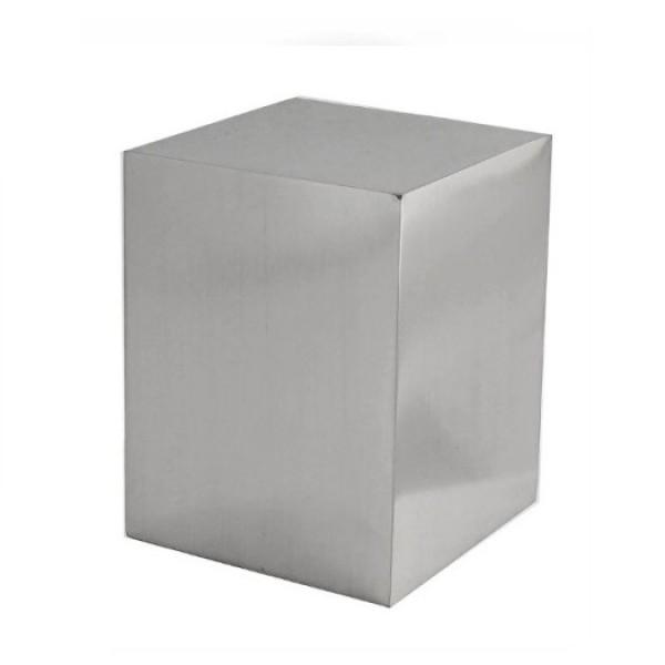 "Block Finial for 1 1/8"" Curtain Rod ~ Each"