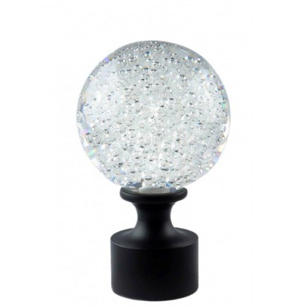 """Mystic Finial with Bubbles for 1 1/8"""" Rod ~ Each"""