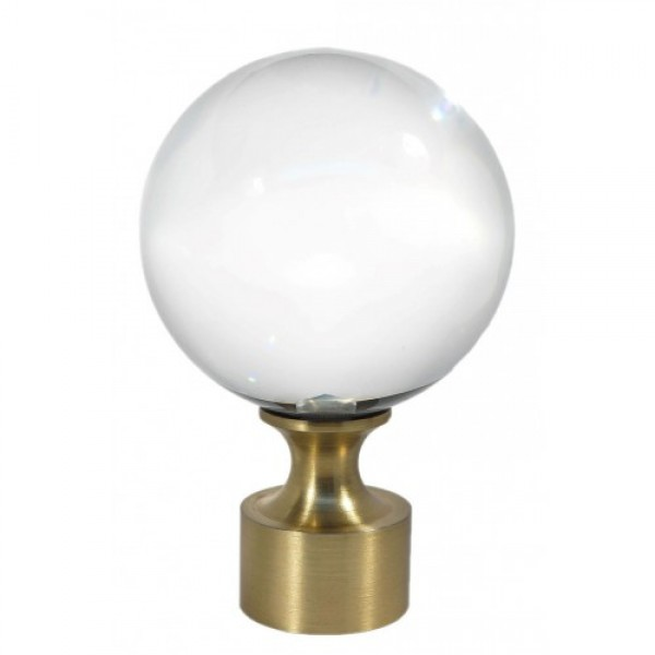 """Orion Finial for 1 1/8"""" Rod ~ Each"""